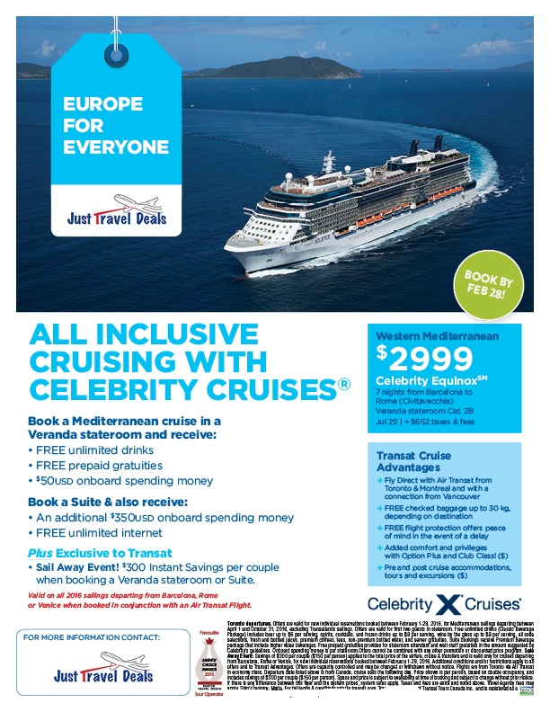 Celebrity Cruises - 7-Nights Roundtrip from Fort ...