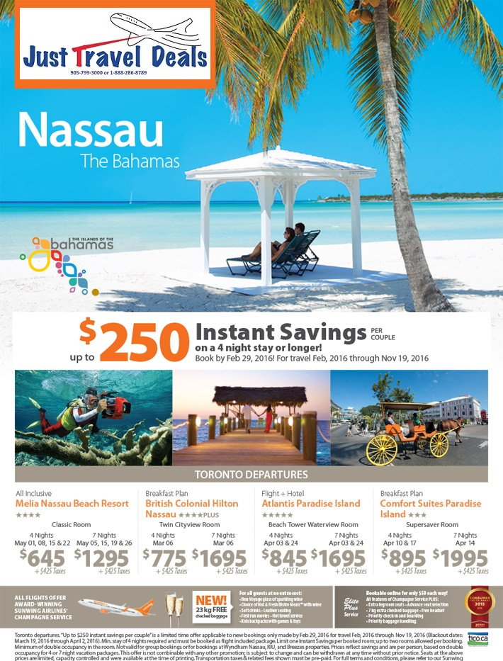 Experience Nassau Vacations From 645 Instant Savings