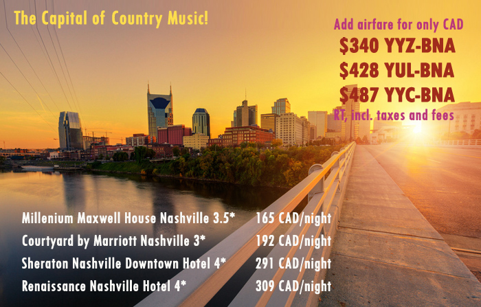Nashville Flights And Vacations