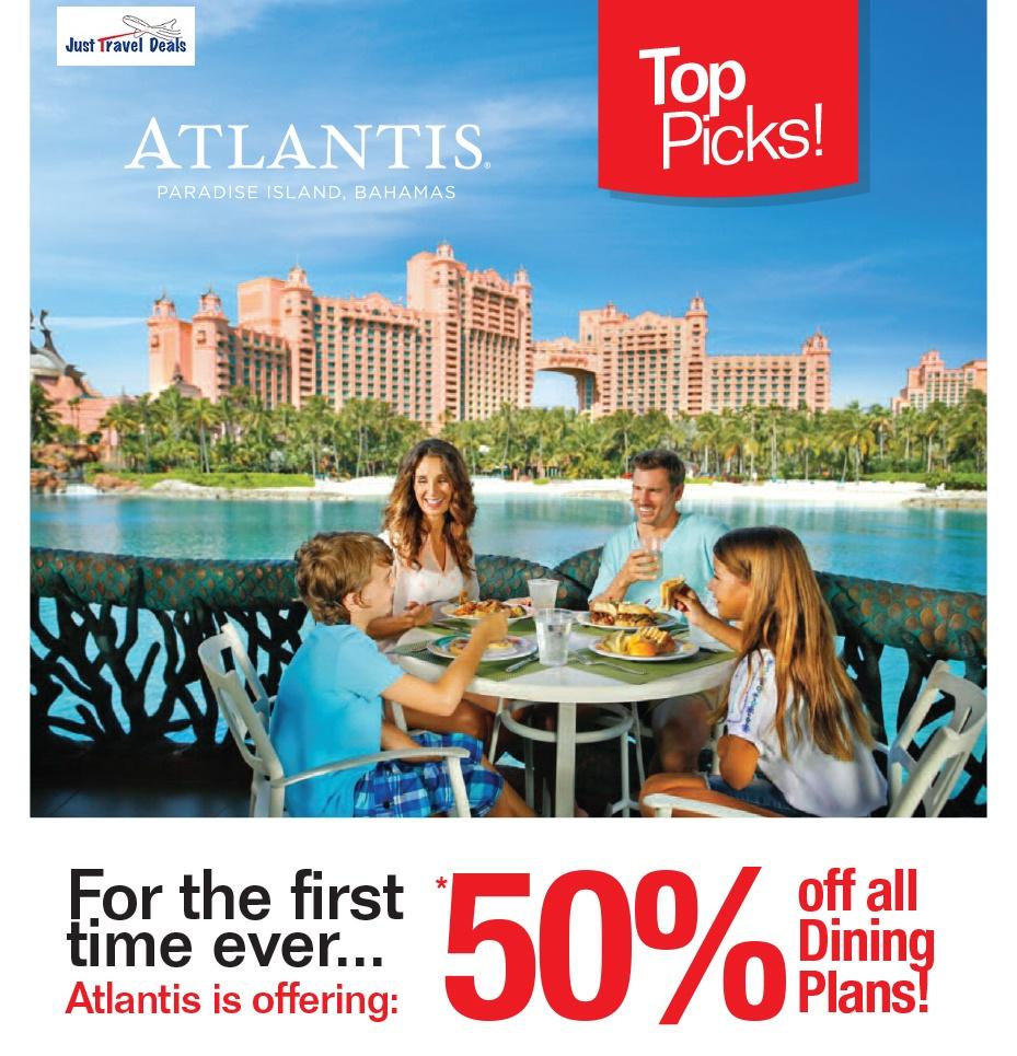 Atlantis Paradise Island Bahamas 50 Off All Dining Plans