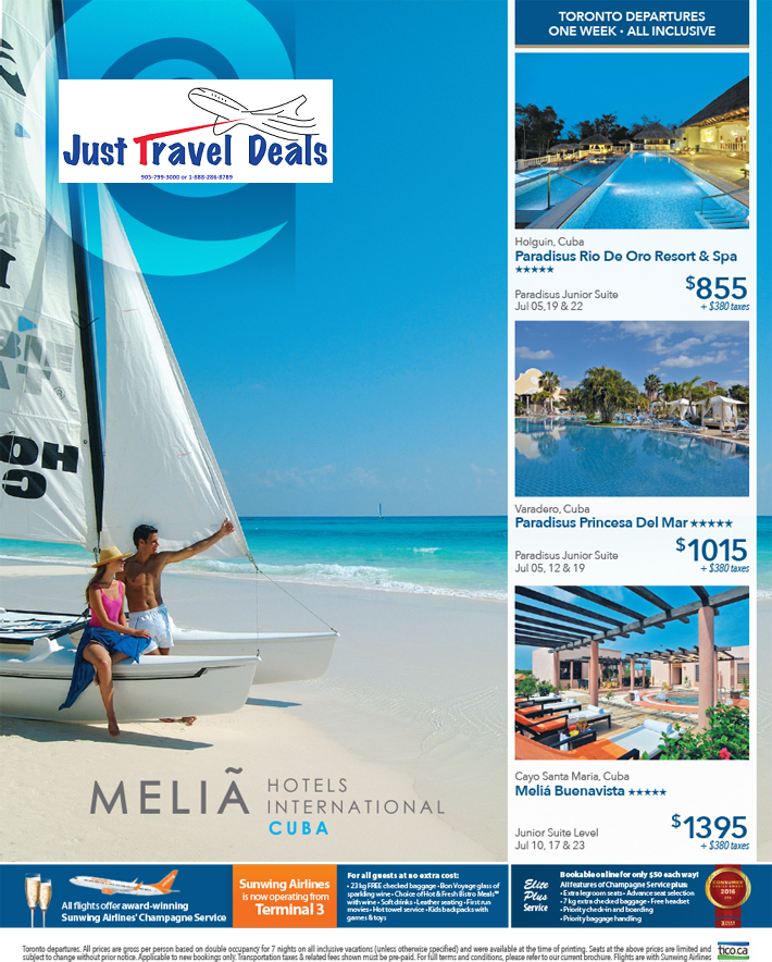 Discount Cruises For Veterans: Melia Cuba Vacations From $855