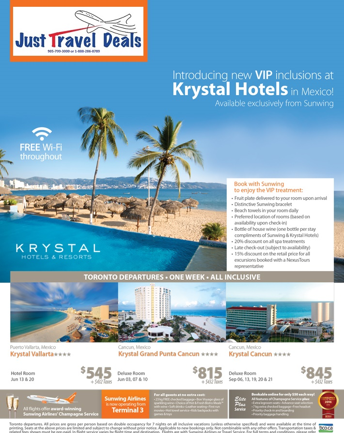 Cheap All Inclusive Vacations From Toronto To Mexico