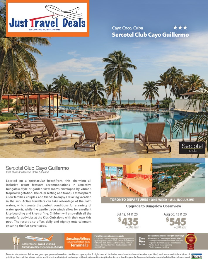 Experience Sercotel Club Cayo Guillermo Sell Off Cuba