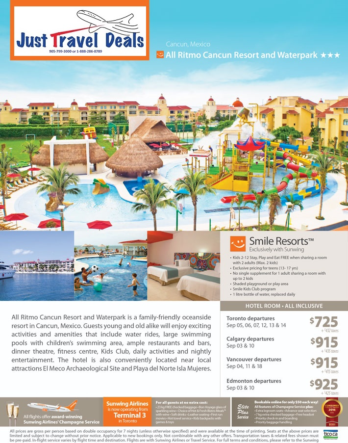 Experience All Ritmo Cancun Resort Amp Waterpark In Mexico
