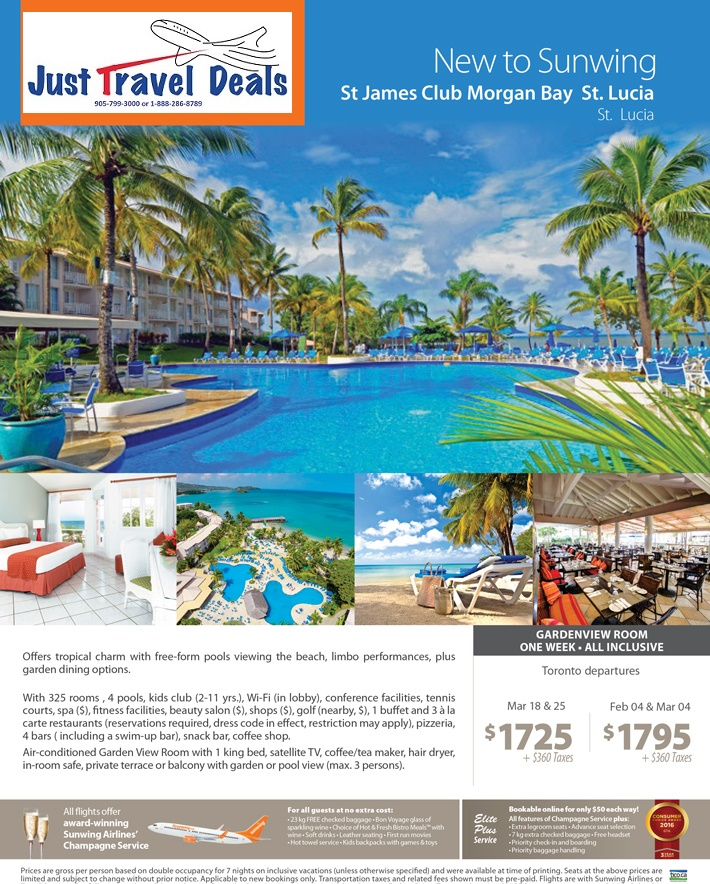 Air Canada Vacations Grenada