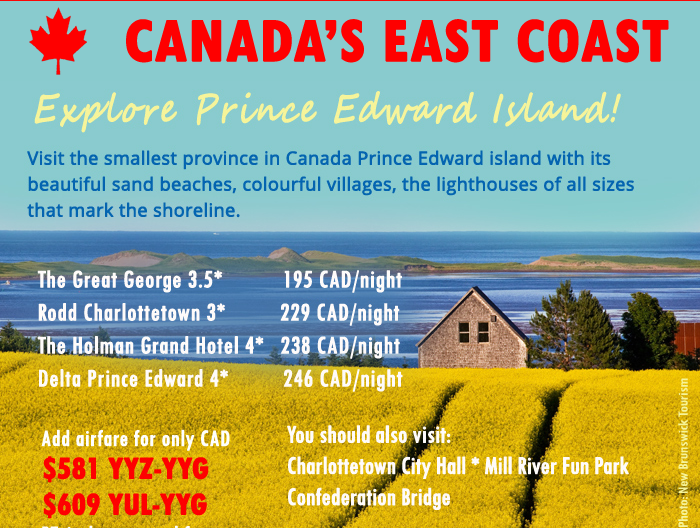 east coast prince edward island vacations hotels cheap tickets