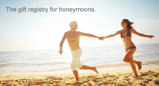 The Gift Registry for honeymoons