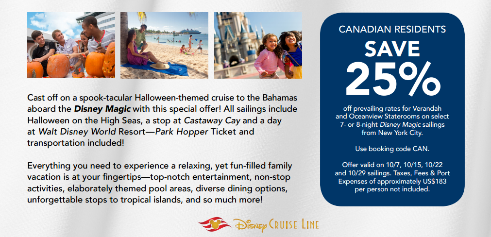 Disney cruise lines canadian promotion 14770010878582485g fandeluxe Choice Image