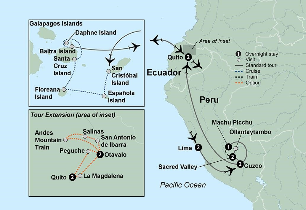 Machu Picchu Amp The Galapagos Islands