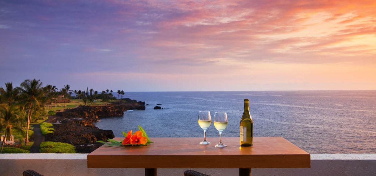 Sheraton Kona Table By Ocean