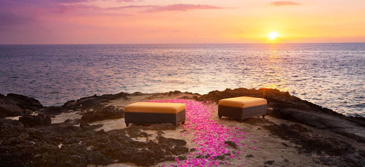 Sheraton Kona Seats By Ocean