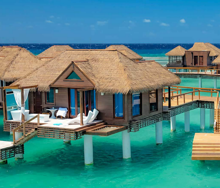 07951fee5ed666 Discover Tropical Romance in 3 Overwater Bungalow Resorts on the ...