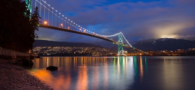 Vancouver, one of Canada's most visited cities, is framed by majestic mountains and the Pacific Ocean.