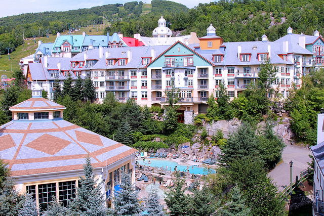 The picturesque ski resort village of Mont-Tremblant provides hours of entertainment and serenity.