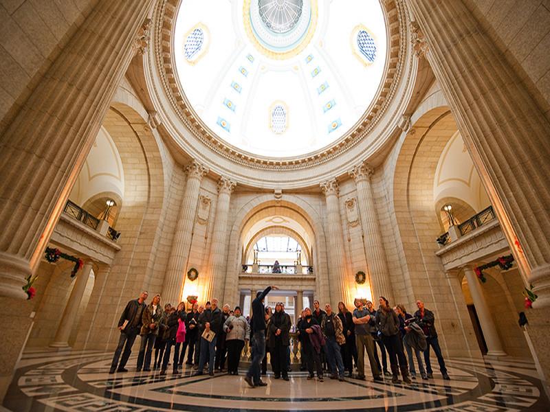"Enjoy a Hermetic Code Tour of the Manitoba Legislative Building, full of hidden symbols and fun ""Easter eggs""."