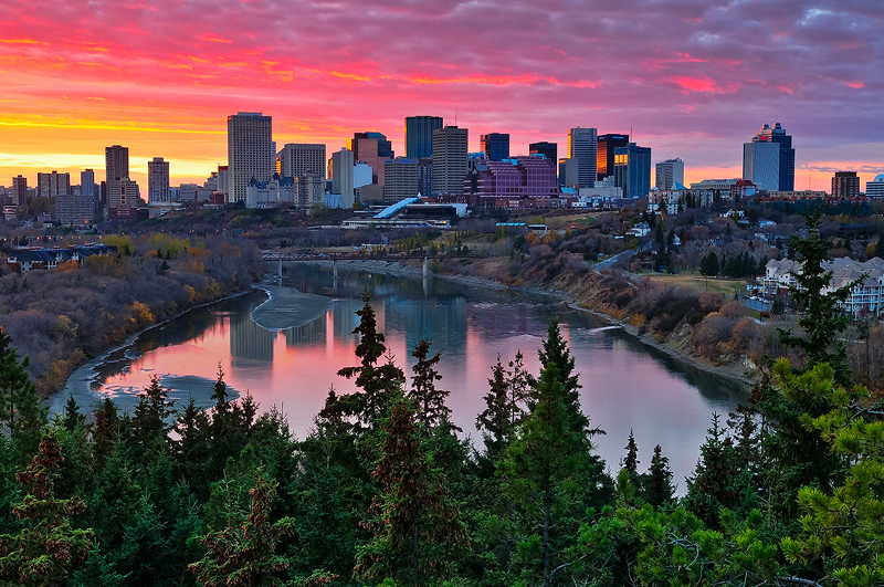 Edmonton, one of Canada's most beautiful cities.