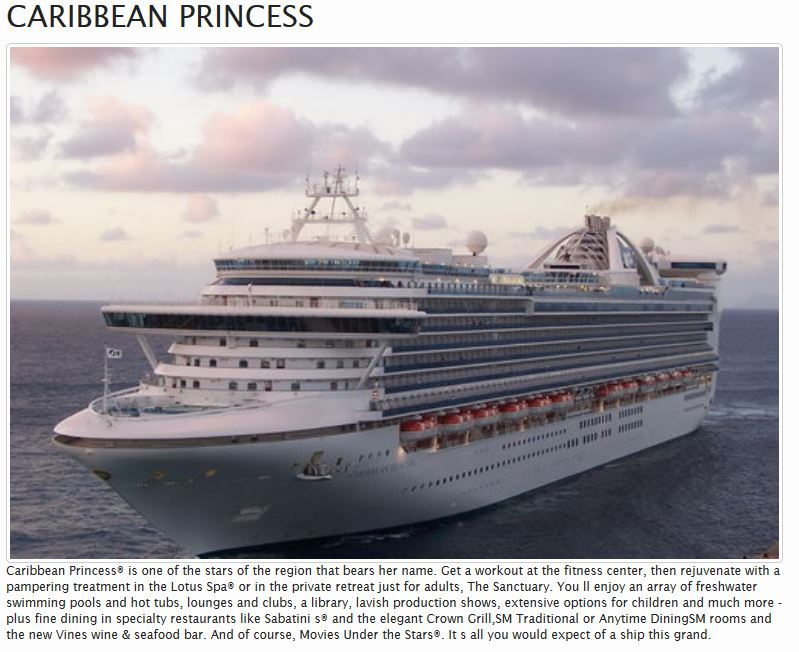 Caribbean Cruise Great Escapes Sale