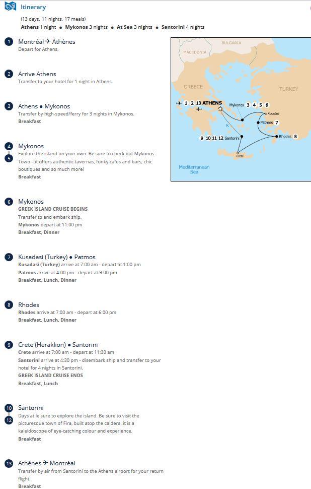 Greek Island Cruising  7 Night Amp 10 Night Options