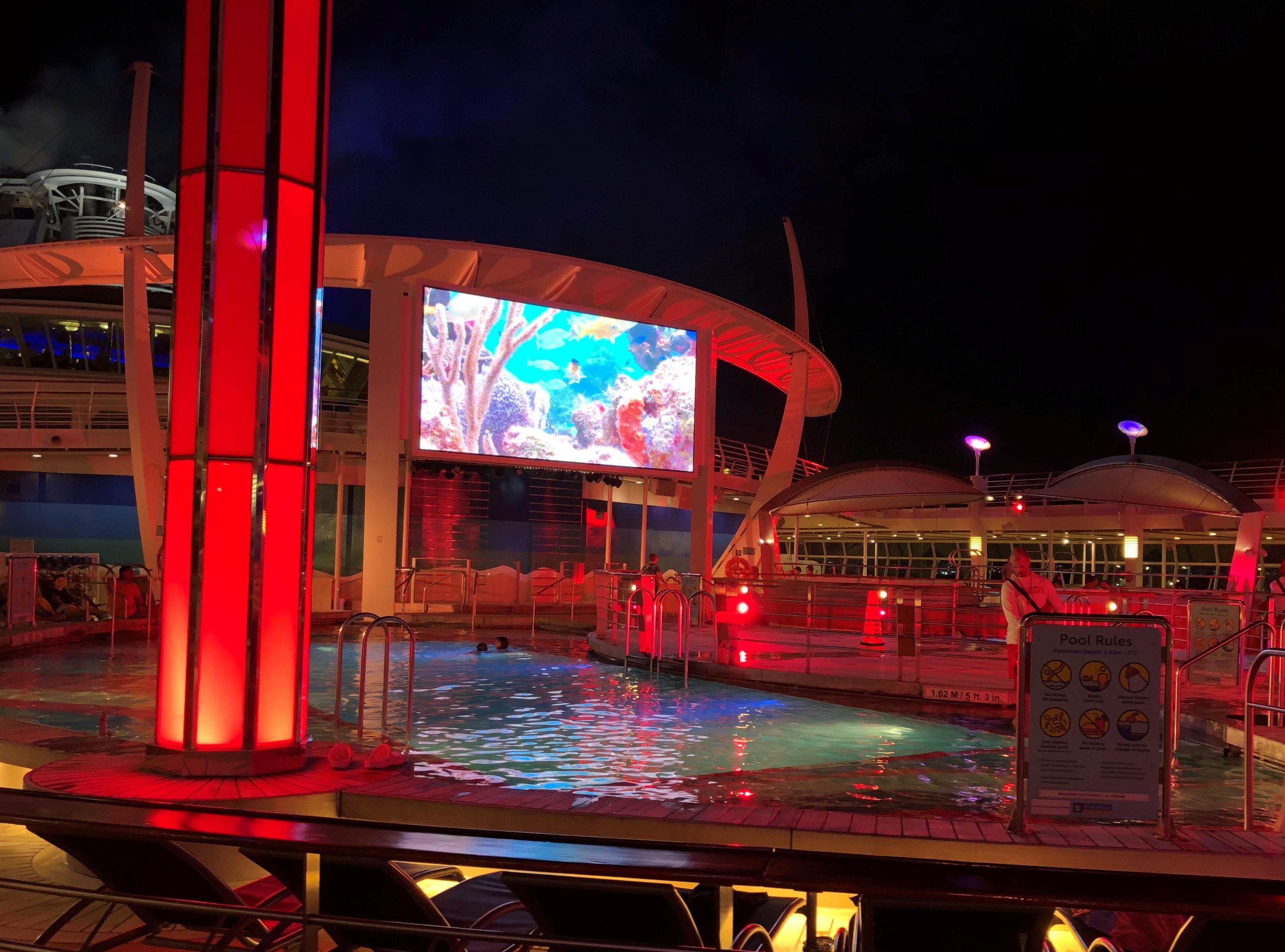 Pool side Movie