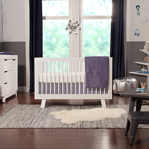 1 hudson crib collection in white with tree bookcase resize 11