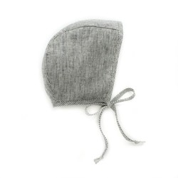 Briar handmade baby bonnets stripes