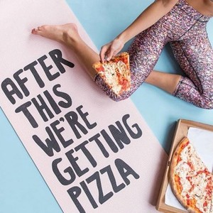 Pizza yoga