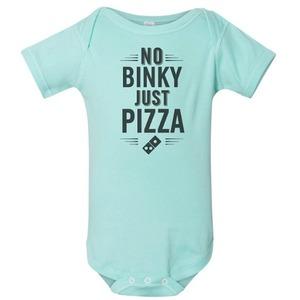 No binky onesie