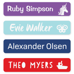 Name labels classic large 1