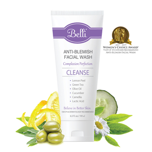 Belli antiblemish vector front graphic ingredients