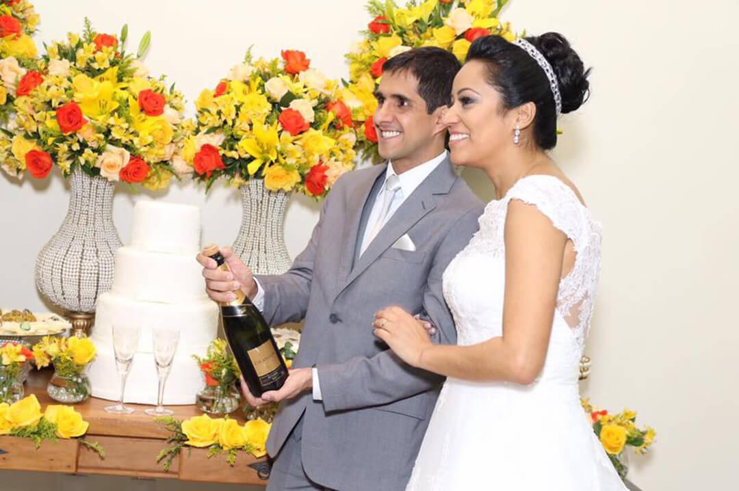 Decoração Mini Wedding - Festejare Decorações e Flores