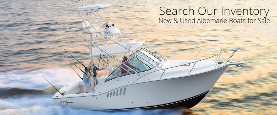 search our inventory, new & used albemarle boats for sale