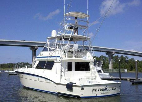 55' Hatteras Convertible-Never Better