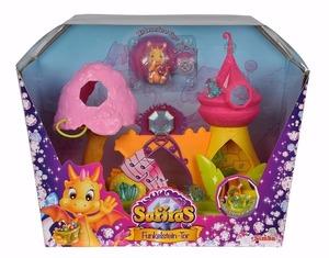 Safiras Dragones Castillo Porton Twinkleston + Figura Dragon