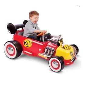 Disney Mickey Roadster Racer a Batería 12v + Control Remoto