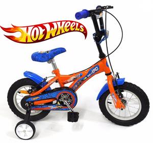 Bicicleta Rodado 12 de 2 a 4 Años Hot Wheels 100% Original Rayos