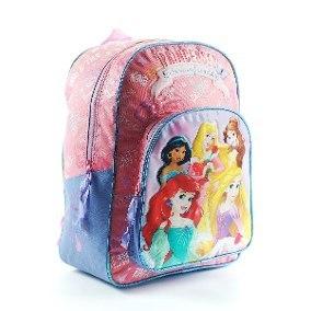 """Mochila De Espalda Disney Princesas 16"""" Licencia Original"""