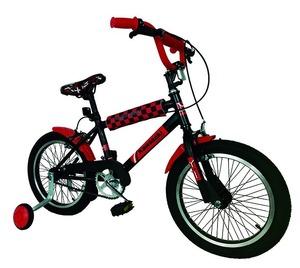Bicicleta Kawasaki Rodado 16 Con Rueditas
