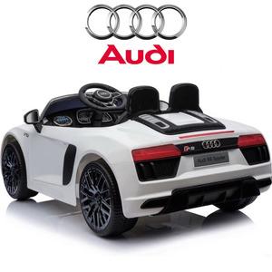 Audi R8 Spyder A Batería 12v + mp3 + Usb + Apertura De Puertas