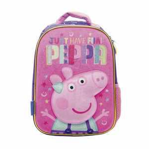 """Mochila De Espalda Peppa Pig Tv 12"""" Licencia Original Para Jardin"""