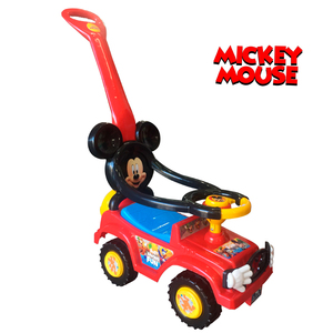 Andarin Pata Pata Mickey Mouse Con Manija Original