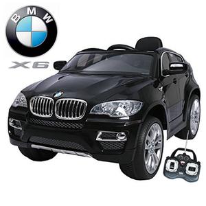 Auto Camioneta A Bateria Bmw X6 + Mp3 + 12 V + Control Remoto