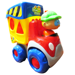Tractor Didáctico Con Luces, Sonidos y Juegos De Formas