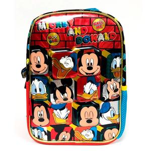 """Mochila De Espalda Mickey y Donald 12"""" Original Para Jardin"""