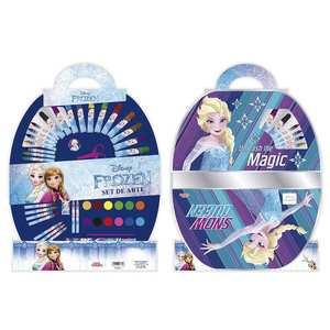 Set de Arte Escolar Disney Frozen 50 Piezas Licencia Original