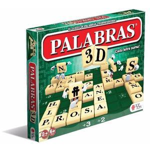 "Juego de Mesa ""Palabras 3D"" Simil Scrabble Original"