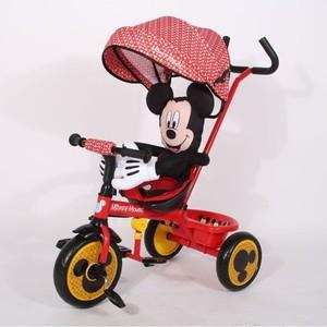 Triciclo de Lujo Disney Mickey 3 en 1 Con Caño de Bicicleta