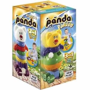 Panda Panzón 3 en 1 Arrastre Apilable Y Encastre