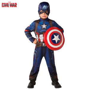 Disfraz Capitan America Con Luz Talle 1-2-3