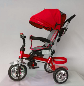 Triciclo de Lujo Manija Direccional Con Asiento Giratorio 360