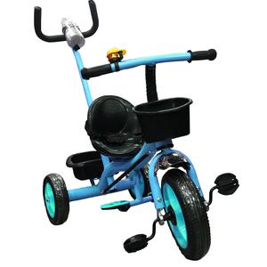 Triciclo con Manija Direccional Bebitos con Portavasos Canasto